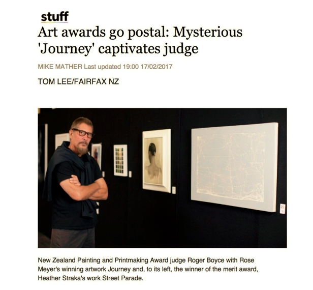 Art awards go postal 1